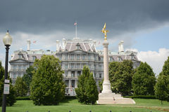 Eisenhower Executive Office Building. Next to the White House in Washington DC stock photo