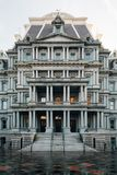 The Eisenhower Executive Office Building, in Washington, DC.  stock image