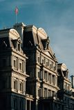 The Eisenhower Executive Office Building, in Washington, DC.  stock photos