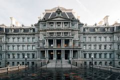 The Eisenhower Executive Office Building, in Washington, DC.  royalty free stock photos