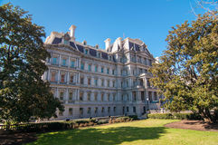 Eisenhower Executive Office Building. In Washington, DC stock photos
