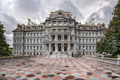 Eisenhower executive office building in Washington DC. Near white house royalty free stock images
