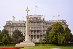 Eisenhower Old Executive Office Building. In Washington DC, USA royalty free stock photography