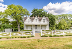 Eisenhower's Birthplace. House where president Eisenhower was born in Denison, Texas royalty free stock photo