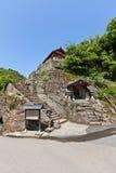 Eisenji-Tempel von Iwami Ginzan, Omori, Japan lizenzfreie stockfotos