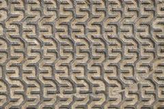 Eisenkappenbeschaffenheit Stockbild