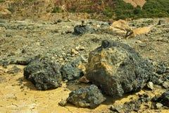 Eisenmineralien Stockfotos