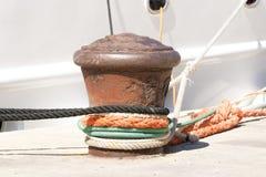 Eisenschiffspoller Lizenzfreies Stockfoto