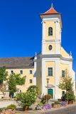 Eisenstadt Franciscan klosterkyrka, Österrike royaltyfria foton