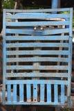 Eisenstoßdämpfer Stockfoto