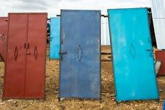 Eisentüren von Marokko Stockfoto