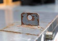 Eisenverschluß des Schranks Lizenzfreies Stockfoto