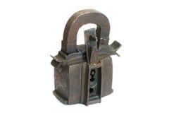 Eisenvorhängeschloß Stockfotografie