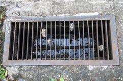 Eisenwasserleitungsabschluß Lizenzfreies Stockbild