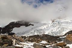 Eisfall Stockbild
