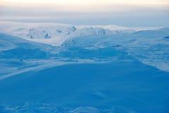Eisfeld in Grönland stockfoto