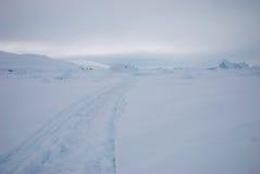 Eisfeld in Grönland lizenzfreie stockfotografie