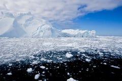 Eisfjord Lizenzfreies Stockfoto