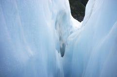 Eisform des Franz Josef-Eisgletschers Stockfotos
