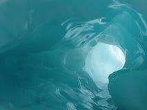 Eishöhle Stockfoto