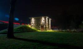 Eishaus in der Stadt Hallenberg Lizenzfreie Stockfotografie