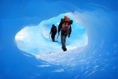 Eishöhle Lizenzfreies Stockbild