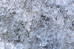Eishintergrund Stockfoto