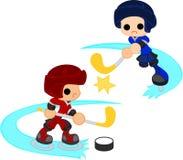 Eishockey Stockfoto