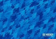 Eishockey-Vektorhintergrund stock abbildung