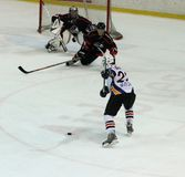 Eishockeyabgleichung Kharkov-Donbass Lizenzfreies Stockbild