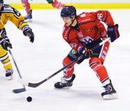 Eishockeyspieler Stockfotografie