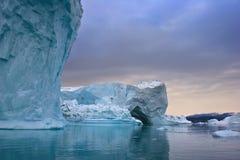 Eisige Küsten Stockfotografie