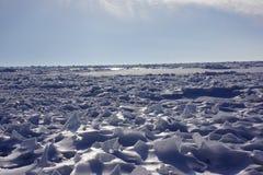 Eisige Landschaft Lizenzfreie Stockfotos