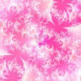 Eisige rosafarbene abstrakte Hintergrundauslegungschablone Stockfotos
