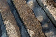 Eisige Treppe im Frühjahr Lizenzfreies Stockbild