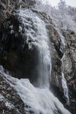 Eisiger Boyana-Wasserfall Lizenzfreie Stockfotos
