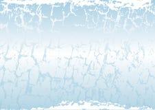 Eisiger Hintergrund Lizenzfreies Stockfoto