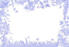 Eisiger Rand stockbild
