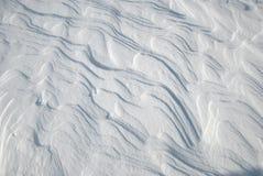 Eisiger Schnee Lizenzfreie Stockfotografie