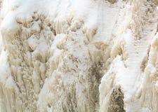 Eisiger Wasserfall Lizenzfreie Stockbilder