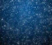 Eisiger Winterhintergrund lizenzfreie abbildung