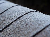 Eisiges Dach Stockfotos