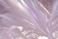 Eisiges Fenster Lizenzfreies Stockbild