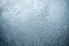 Eisiges Fenster stockfotos