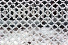 Eisiges Gitter Stockbilder