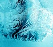 Eisiges Muster stockbild
