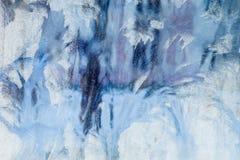 Eisiges Muster auf dem Fenster Schöner natürlicher Hintergrund Abbildung kann als Hintergrund benutzt werden Nahaufnahme Lizenzfreie Stockfotos