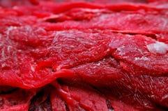 Eisiges Rind-Fleisch 2 Stockfoto