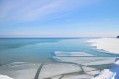 Eisiges Wasser Lizenzfreies Stockbild