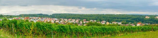 Eisingen-Panorama Lizenzfreies Stockbild